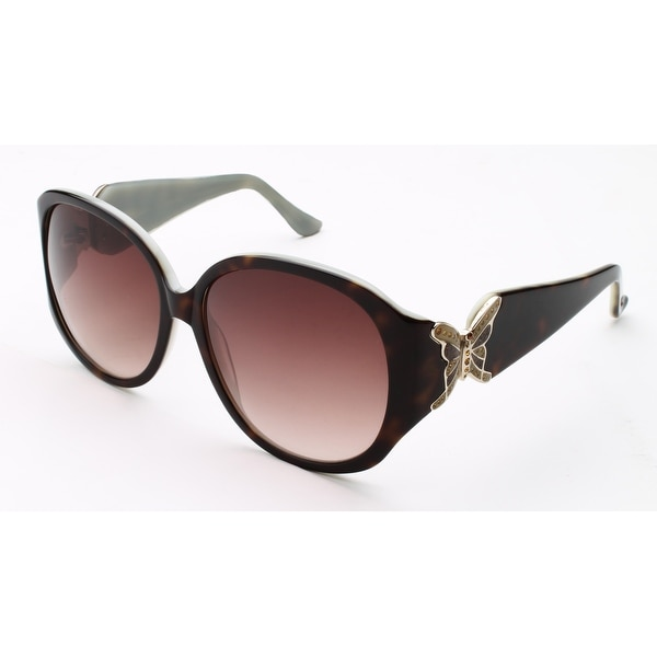 Judith Leiber Women's Butterfly Sunglasses Amethyst - Purple - Small