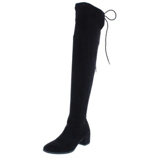Chinese Laundry Womens Mystical Over-The-Knee Boots Faux Suede Riding