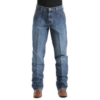 Cinch Western Denim Jeans Mens Blue Label Medium Wash MB90434002