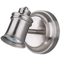 Canarm Taylor 1 Bulb Ceiling/Wall Light in Brushed Pewter - Easy Connect