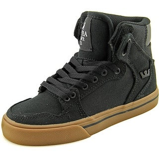 Supra Vaider Boy Black-Gum Athletic Shoes