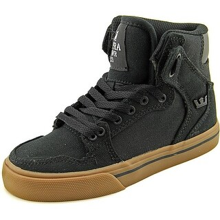 Supra Vaider Round Toe Canvas Sneakers