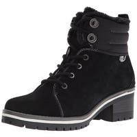 Anne Klein Women's Langstyn Suede Snow Boot