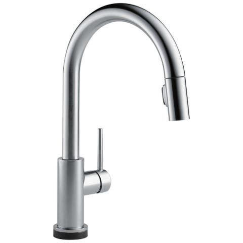 Delta Trinsic: VoiceIQ Single-Handle Pull-Down Kitchen Faucet with Touch Technology