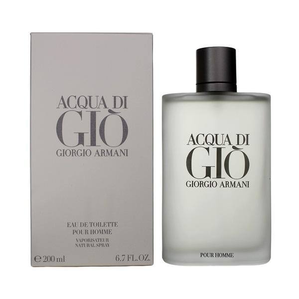 Giorgio Armani Acqua Di Gio EDT for Men 6.7 oz / 200 ml. Opens flyout.