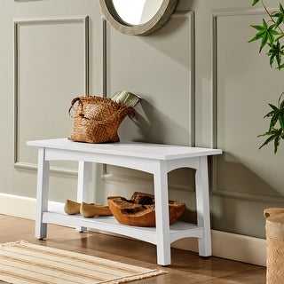 Link to Porch & Den Altadena Wood Entryway Bench Similar Items in Living Room Furniture