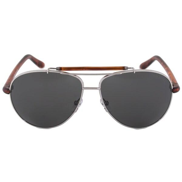 c8485ec52a81 Shop Tom Ford Bradley Aviator Sunglasses FT0244 10P 60 - Free ...