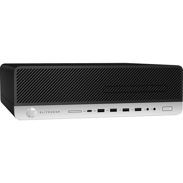 HP EliteDesk 800 G4 SFF 8GB 500GB Intel Core i5-8500 X63GHz Win10,Black(Certified Refurbished). Opens flyout.