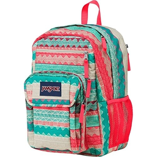 Shop JanSport Womens Digital Carry Mainstream Digital Student Backpack - Coral  Sparkle Pretty Posey   8H X 3W X 7.5D - One size - Free Shipping On Orders  ... bfc2394200