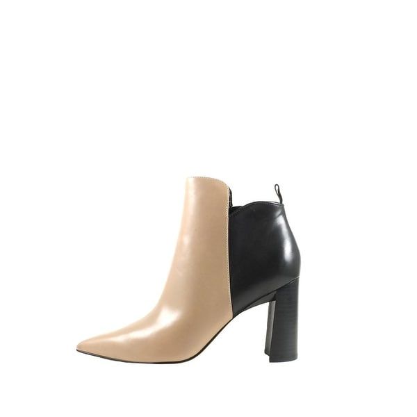 Marc Fisher Womens HARPER Leather Pointed Toe Ankle Fashion Boots