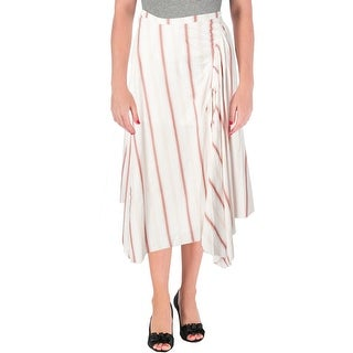 Free People Womens Juniors Maxi Skirt Ruched Layered - 0