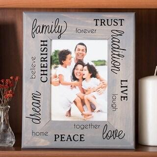 "Dcwv Press Apply Transfers 2.75""X5.75"" 4/Pkg-Family, Home & Love Sentiments"