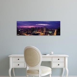 Easy Art Prints Panoramic Images's 'San Francisco CA USA' Premium Canvas Art
