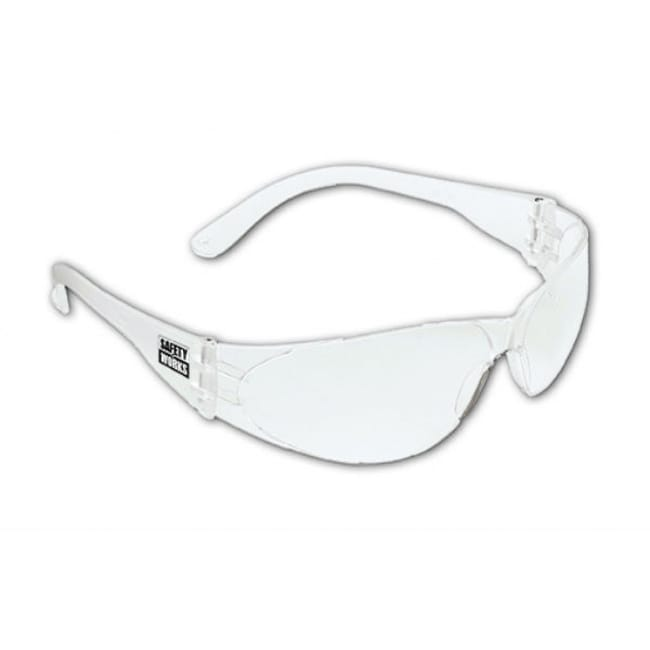 MSA Safety Works 10006315 Close-Fitting Safety Glasses with Clear Lens