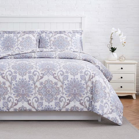 Serenity Cotton Duvet Cover Set