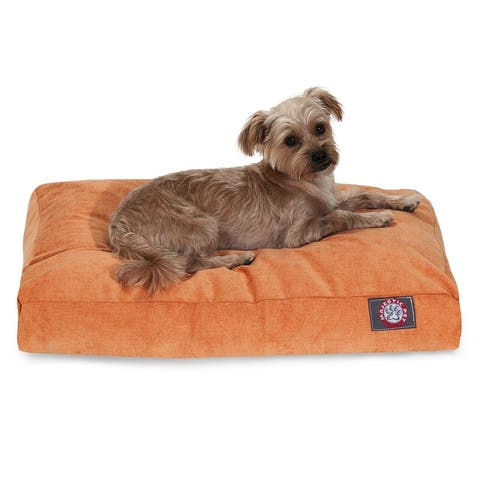 Majestic Pet Grey Villa Collection Large/ Extra Large Dog Rectangle Dog Bed with Removable Washable Cover