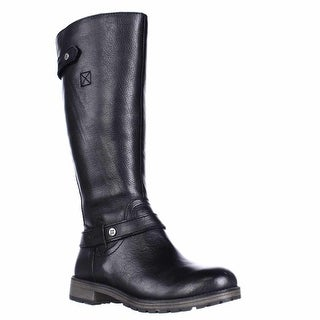 naturalizer Tanita Riding Boots - Black