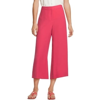 Vince Camuto Womens Culottes Crepe Crop