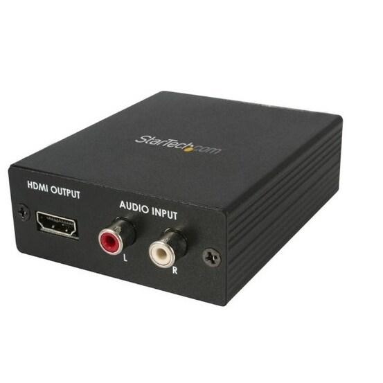 Startech - Vga2hd2 Ypbpr Vga To Hdmi Converternwith Audio .