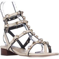 Steve Madden Crowne Flat Gladiator Sandals, White