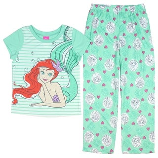 Disney The Little Mermaid Girls' I Love You More 2-Piece Pajama Set