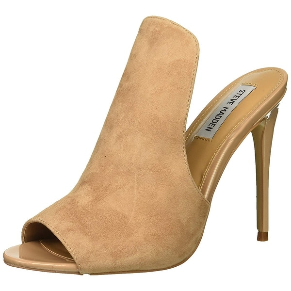 e3f26f8101c Shop Steve Madden Womens Sinful Leather Peep Toe Special Occasion ...