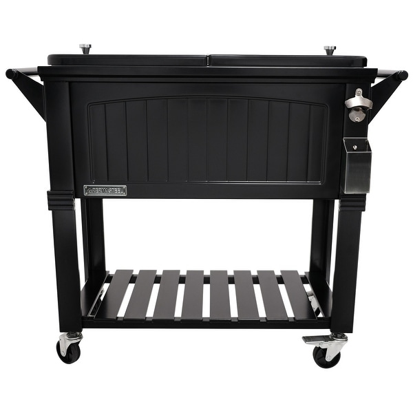 Permasteel 80 Qt. Furniture Style Patio Cooler