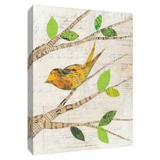 """PTM Images 9-154913  PTM Canvas Collection 10"""" x 8"""" - """"Birds in Spring II"""" Giclee Birds Art Print on Canvas"""