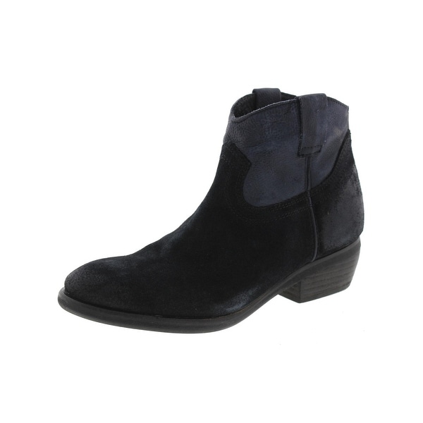 Steve Madden Womens Midnite Ankle Boots Suede Leather