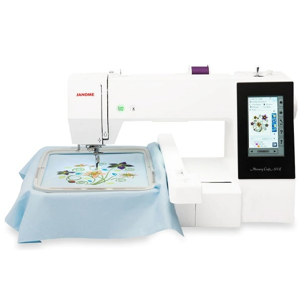 Janome Memory Craft 500E Embroidery Machine. Opens flyout.