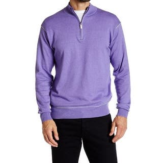 Peter Millar NEW Purple Mens Size Medium M 1/2 Zip Contrast-Trim Sweater|https://ak1.ostkcdn.com/images/products/is/images/direct/c8acc80ef86ffe33b94ccd0ef72940342f2e8fa4/Peter-Millar-NEW-Purple-Mens-Size-Medium-M-1-2-Zip-Contrast-Trim-Sweater.jpg?impolicy=medium