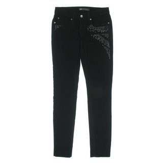 Levi's Womens Juniors Skinny Jeans Denim Studded - 3