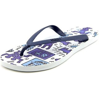 Tidal Coloring Book Men  Open Toe Synthetic Blue Flip Flop Sandal