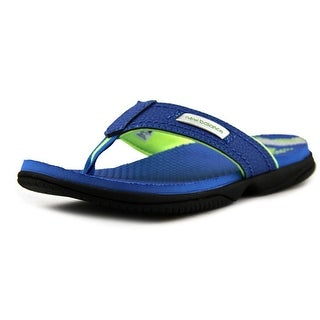 New Balance K6021 Youth Open Toe Synthetic Blue Thong Sandal