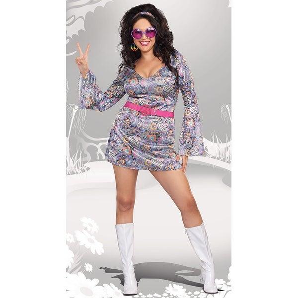 Shop Plus Size Love Fest Disco Diva Costume Plus Size 70s Costume