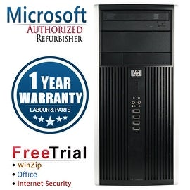 Refurbished HP Compaq 6200 Pro Tower Intel Core I3 2100 3.1G 8G DDR3 2TB DVD WIN 10 Pro 64 1 Year Warranty