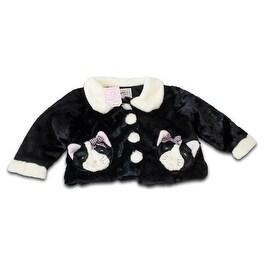 Fuzzy Wear Girls Kitty Jacket, 12-18 months