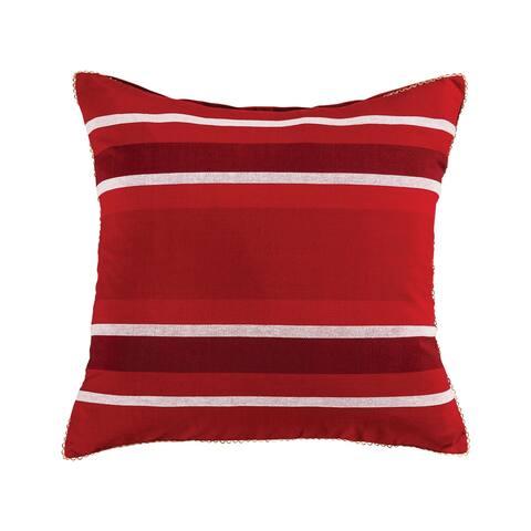 Holiday Ribbon 24x24 Pillow