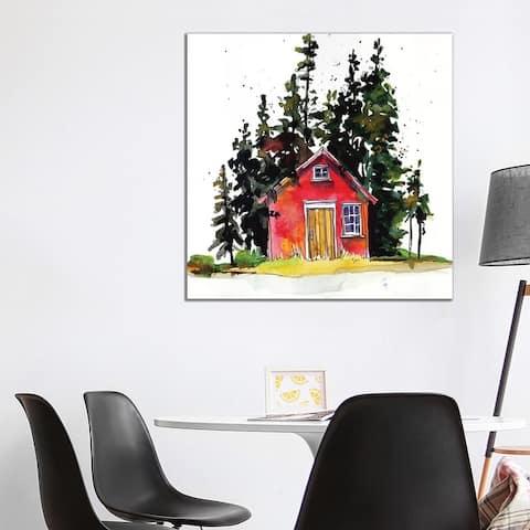 "iCanvas ""Rad Cabin III"" by Paul Mccreery Canvas Print"
