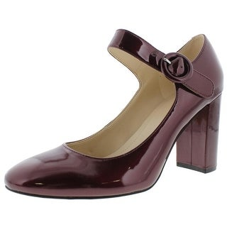 Marc Fisher Womens Shaylie Mary Jane Heels Patent Pumps