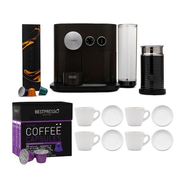 Nespresso Expert Original Espresso Machine with Coffee Capsule Bundle. Opens flyout.