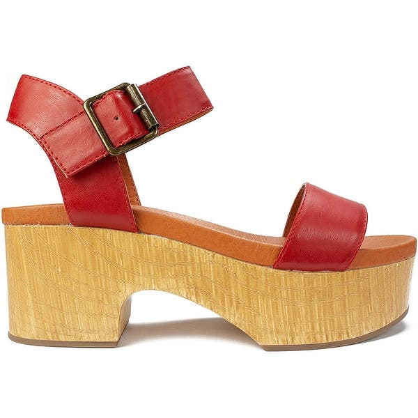Seven Dials Womens Wayne Open Toe Special Occasion Platform Sandals
