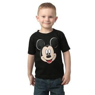 Boys Mickey Mouse Black T-Shirt - 4T