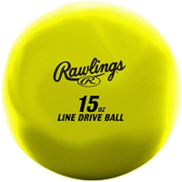 Rawlings Line-Drive Training Ball (15oz). Opens flyout.