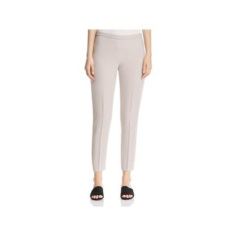 Elie Tahari Womens Marcia Dress Pants Flat Front Faux Pockets