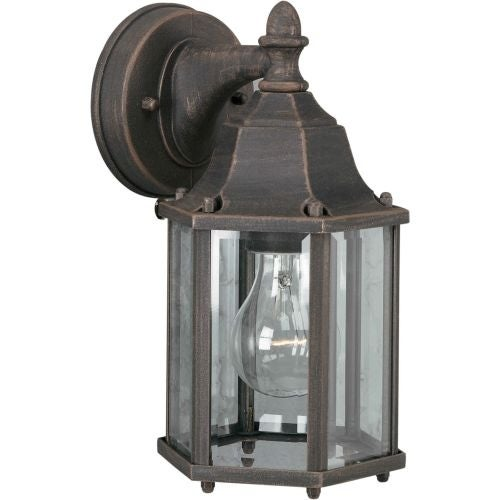 Forte Lighting 1742 01 Outdoor Wall Sconce From The Exterior Collection