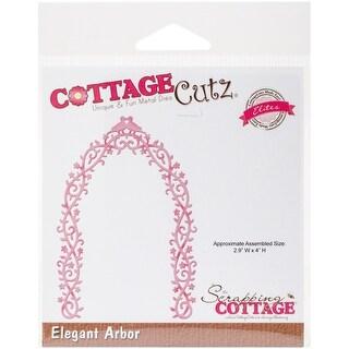"""CottageCutz Elites Die -Elegant Arbor, 2.9""""X4"""""""