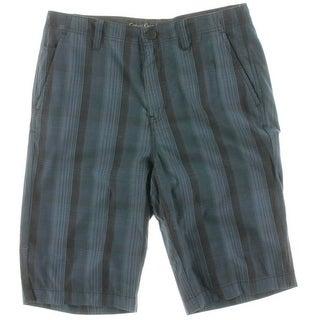 Calvin Klein Jeans Mens Cotton Plaid Casual Shorts - 30