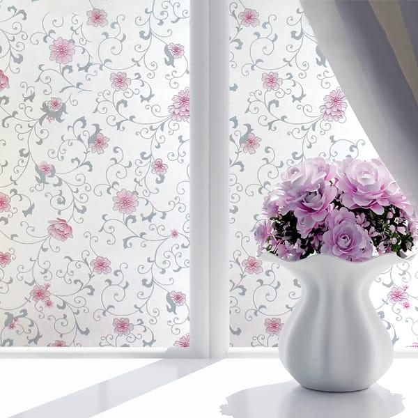 Shop Chezmax Decorative Privacy Window Film Frosted Glass