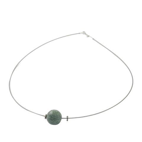 NOVICA Trajectory, Jade pendant necklace